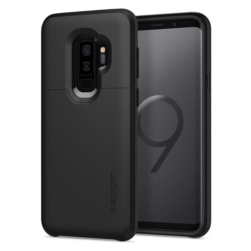 Spigen Θήκη Slim Armor CS Samsung Galaxy S9 Plus - Black (593CS22950)