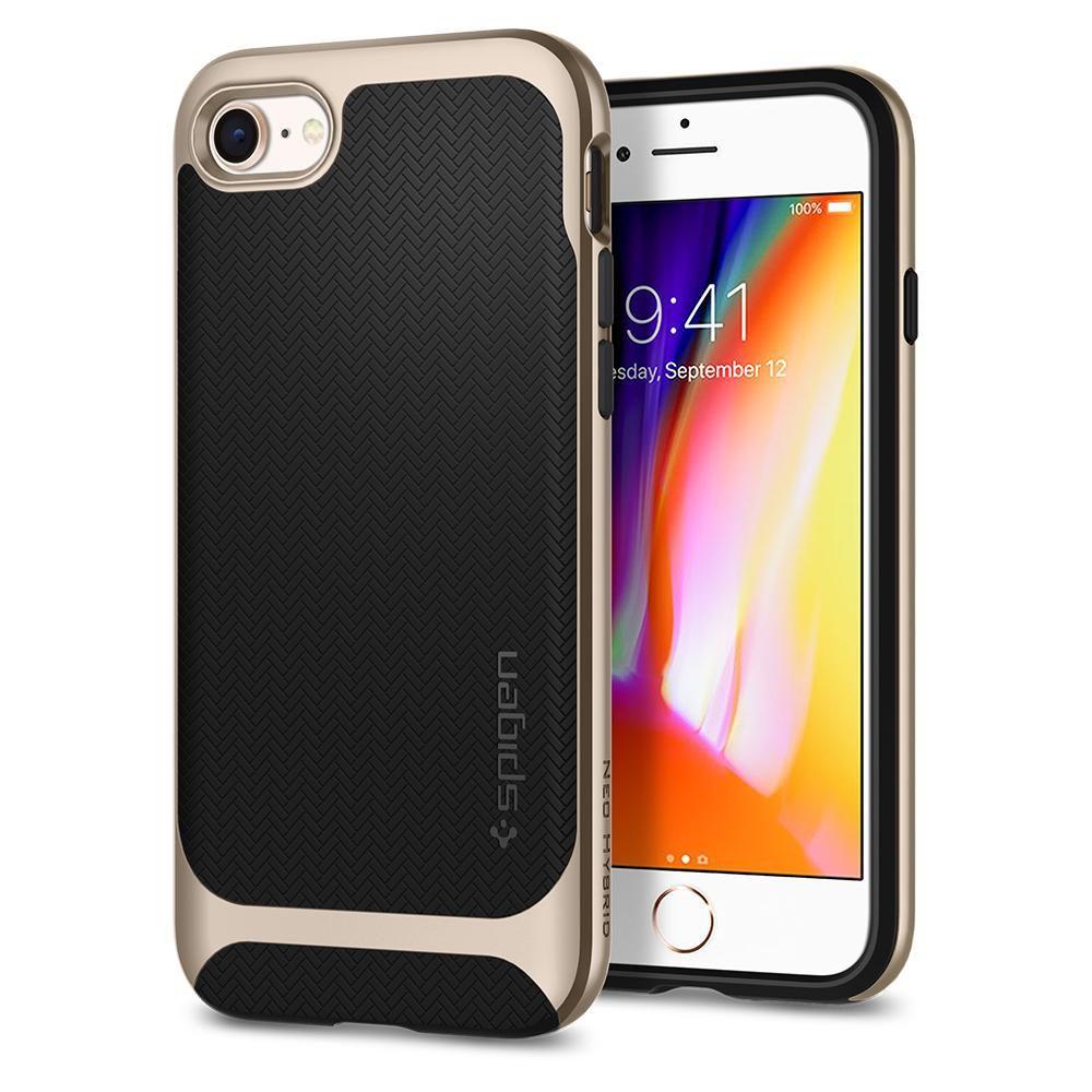 Spigen Θήκη Neo Hybrid iPhone 8 / 7 - Champagne Gold (054CS22201)