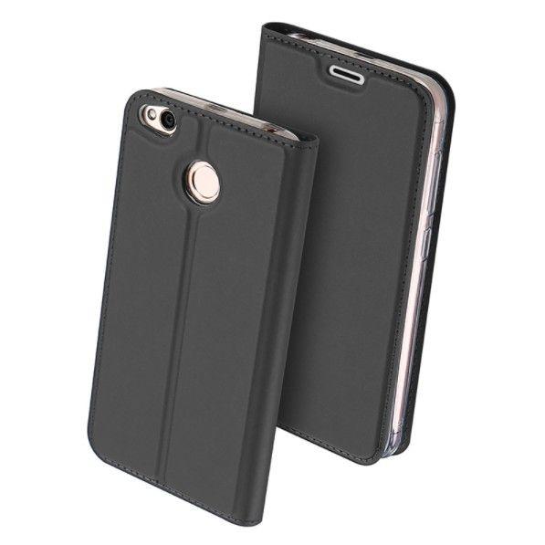 Duxducis Θήκη - Πορτοφόλι Xiaomi Redmi 4X - Grey (11321)