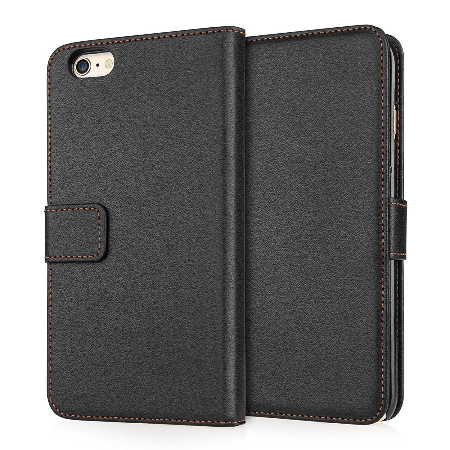 Caseflex Θήκη - Πορτοφόλι iPhone 6S Plus / 6 Plus - Black (AP-GA02-Z934)