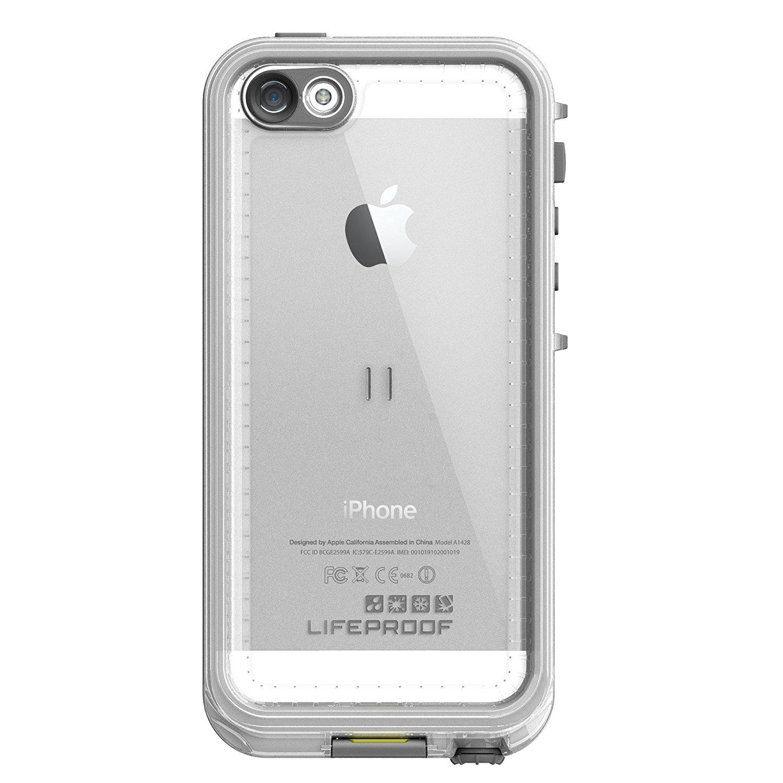LifeProof Nuud Αδιάβροχη Θήκη iPhone SE / 5S / 5 - White (2106-02) θήκες κινητών