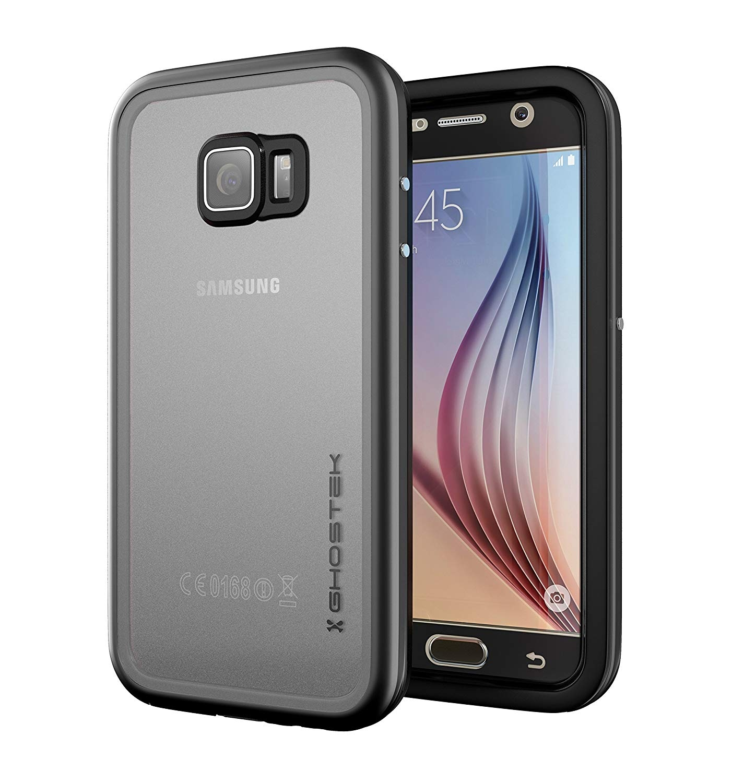 Ghostek Atomic 2 Αδιάβροχη Θήκη Samsung Galaxy S6 - Black (GHOCAS262)