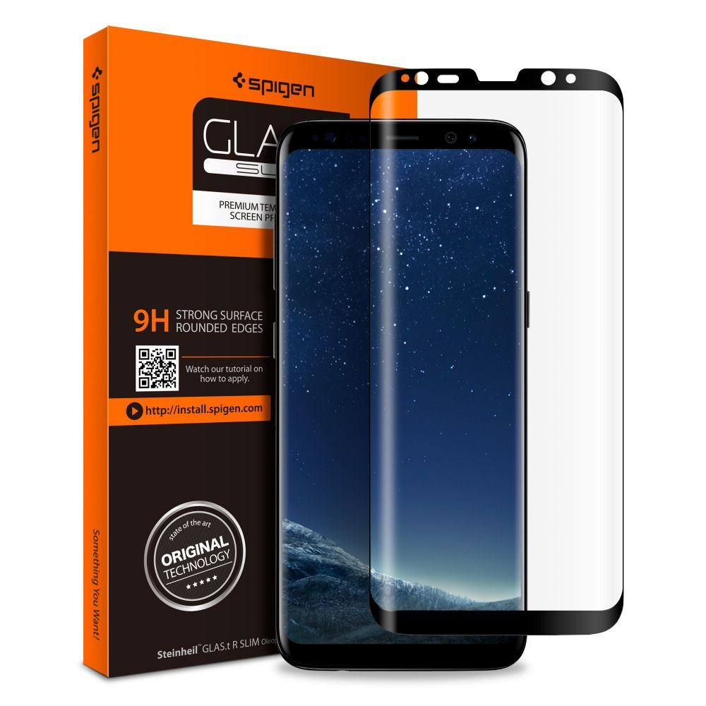 Spigen Tempered Glass Samsung Galaxy S8 Plus GLAS.tR Slim  (571GL21778)