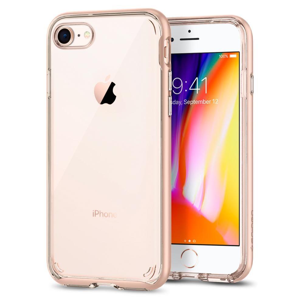 Spigen Θήκη Neo Hybrid Crystal 2 iPhone 8 / 7 - Blush Gold  (054CS22569)