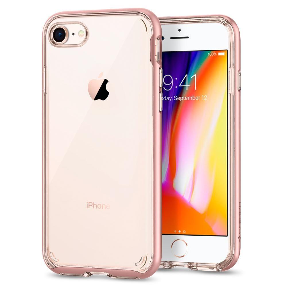 Spigen Θήκη Neo Hybrid Crystal 2 iPhone 8 / 7 - Rose Gold (054CS22364)