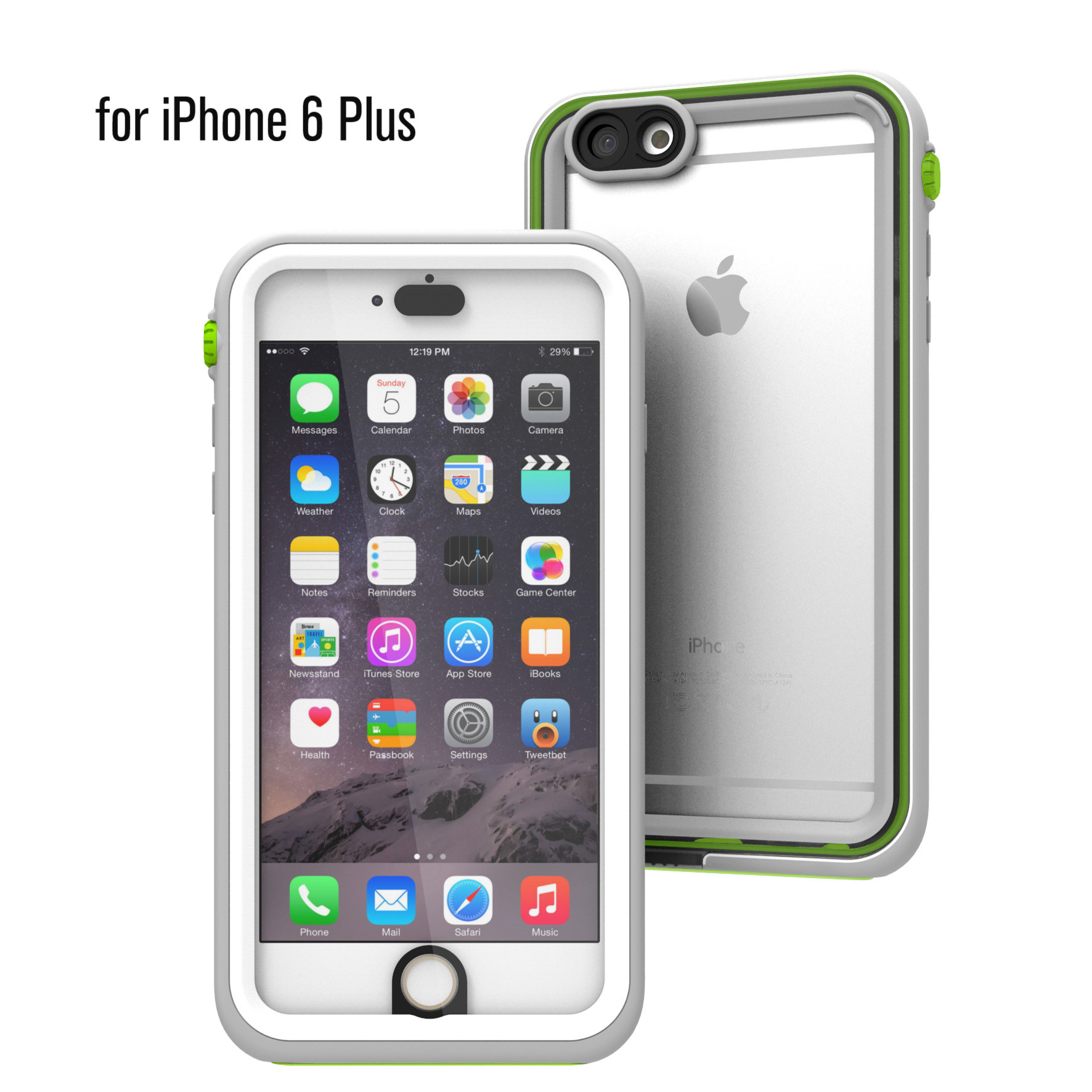 Catalyst Αδιάβροχη Θήκη iPhone 6S Plus με TouchID - Green Pop