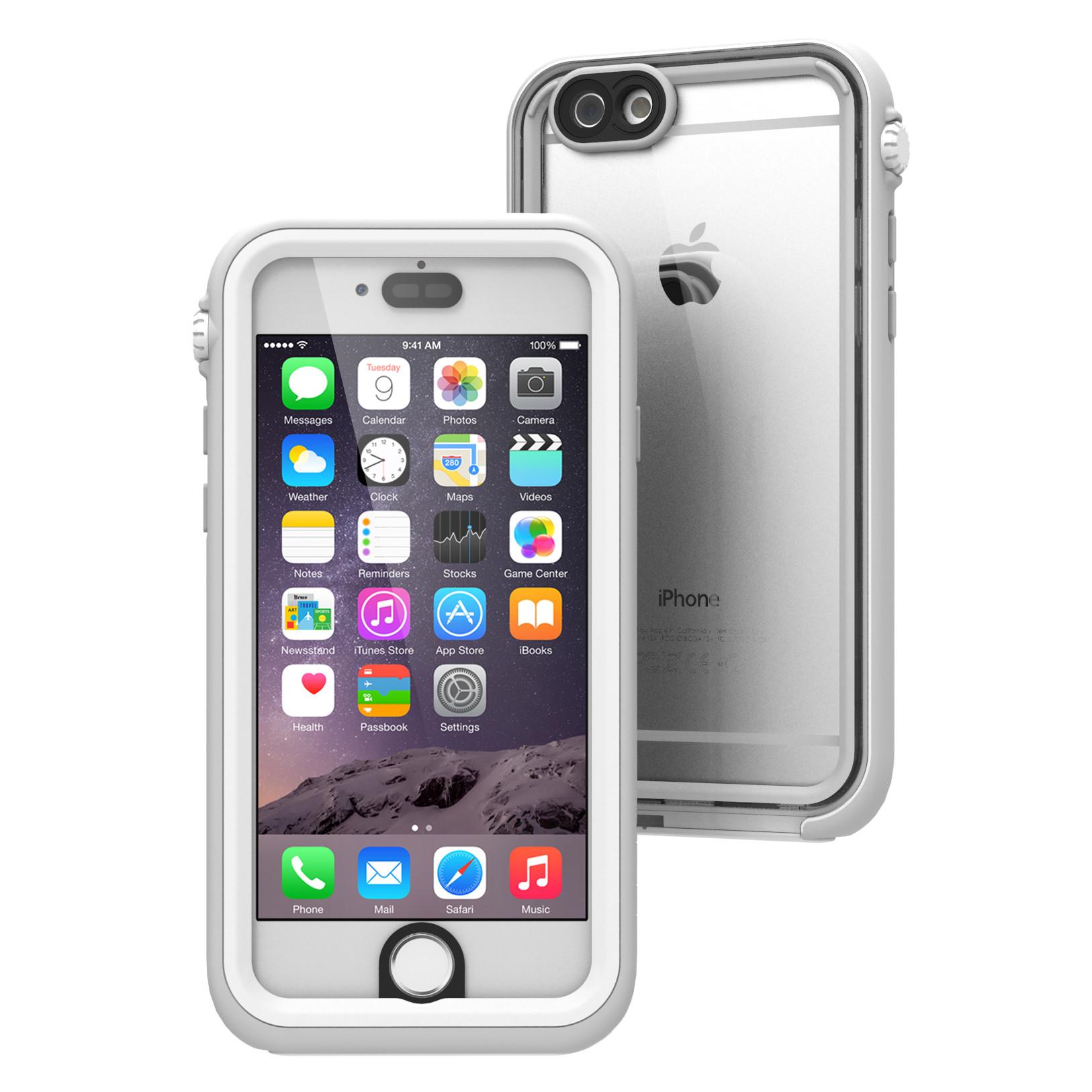 Αδιάβροχη Θήκη iPhone 6/6S με TouchID by Catalyst (CAT - CATIPHO6WHT)