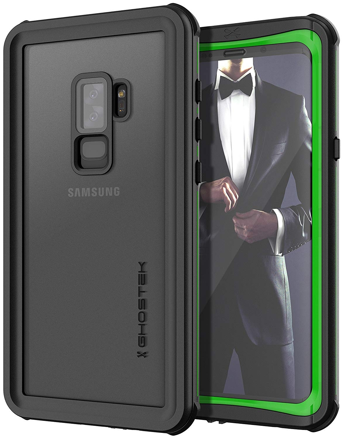 Ghostek Nautical 2 Αδιάβροχη Θήκη Samsung Galaxy S9 Plus - Green (CA-GHOCAS962-00)