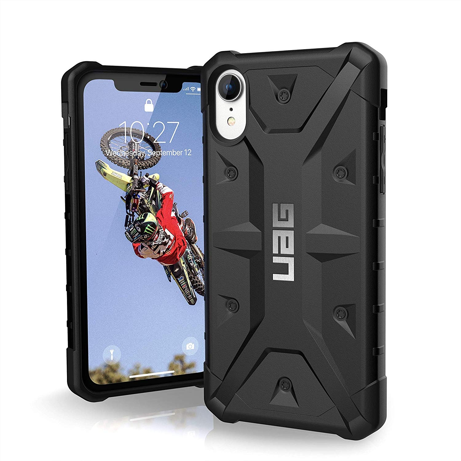 UAG Aνθεκτική Θήκη Pathfinder iPhone XR - Black (111097114040)