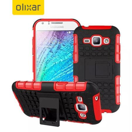 Ανθεκτική Θήκη Samsung Galaxy J1 (2015) by Olixar (54085)