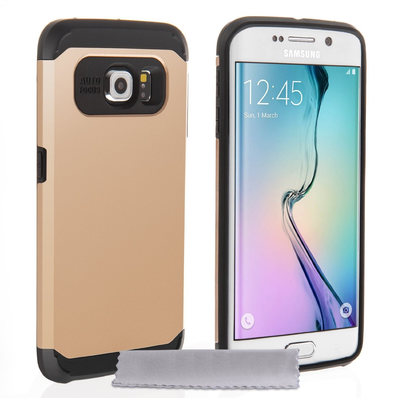 Tough Armor Ανθεκτική Θήκη Samsung Galaxy S6 Edge by Caseflex (Z520)