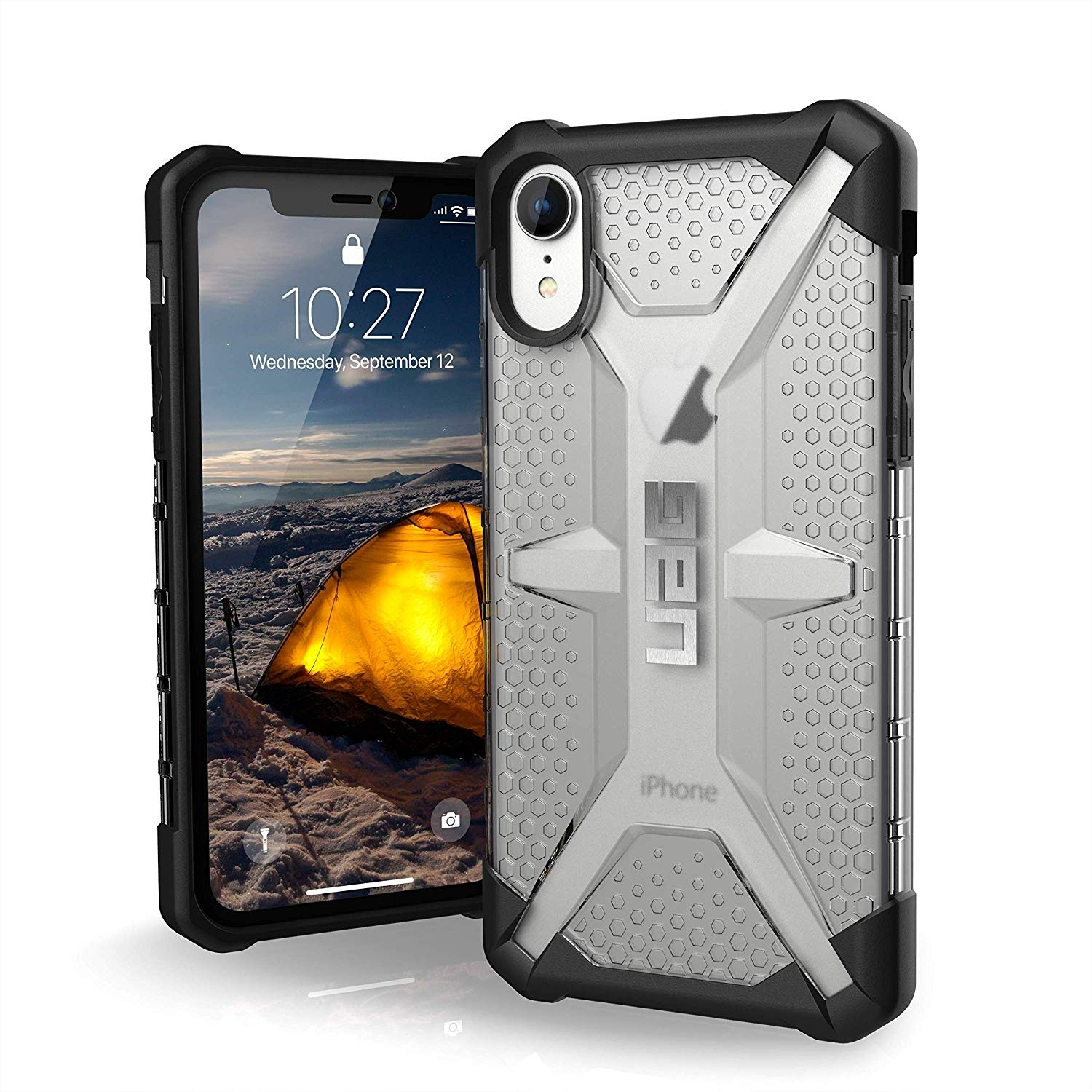 UAG Θήκη Plasma Feather-Light Rugged iPhone XR - Ice (111093114343)