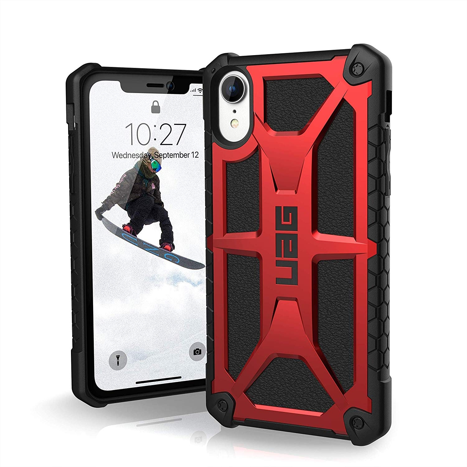 UAG Θήκη Monarch Series iPhone XR - Black / Red (111091119494)