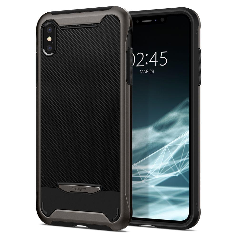 Spigen Θήκη Hybrid NX iPhone XS Max - Gunmetal (065CS24863)