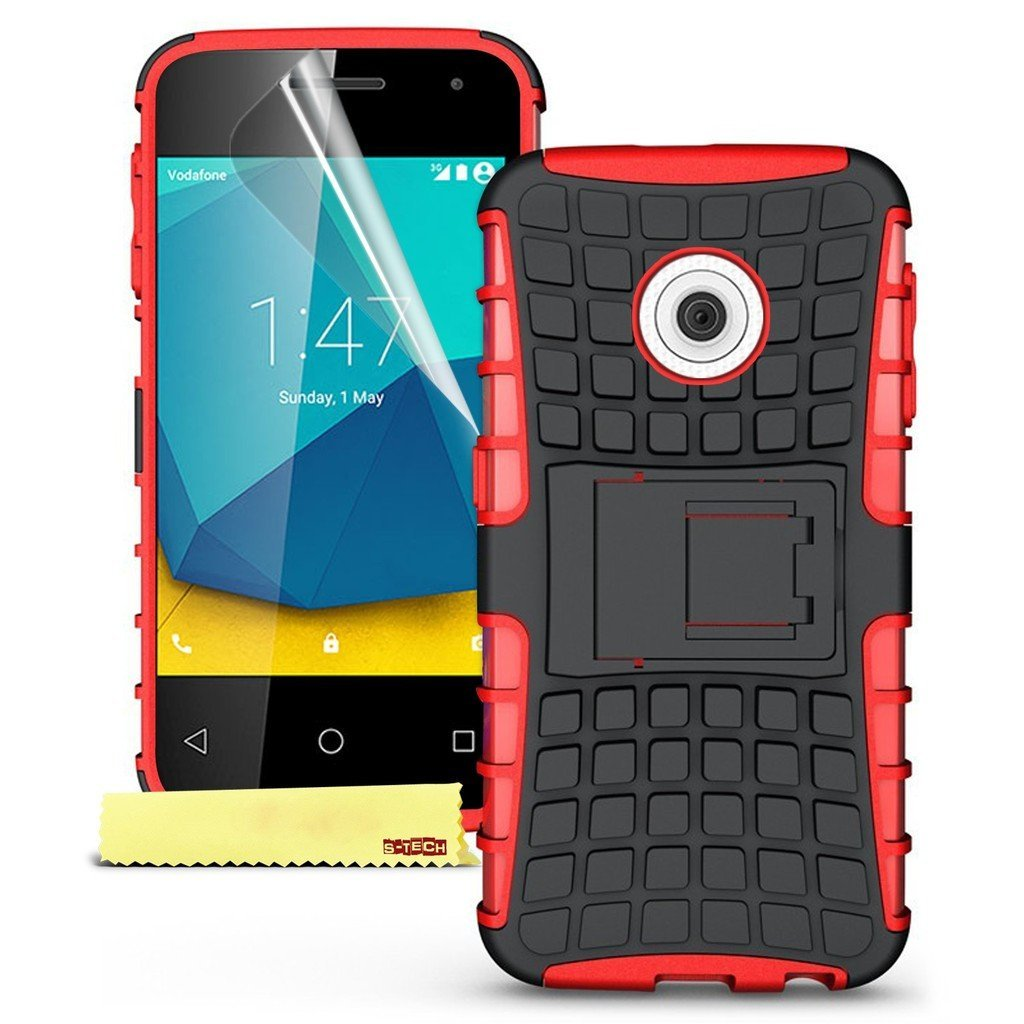 Ανθεκτική Θήκη Vodafone Smart First 7 - Κόκκινο (9689) - OEM