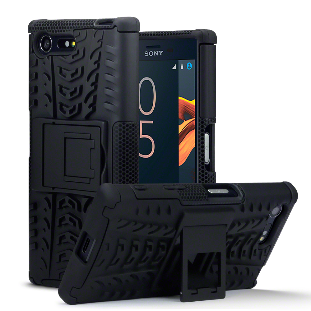 Terrapin Ανθεκτική Θήκη Sony Xperia X Compact - Black (131-005-027)