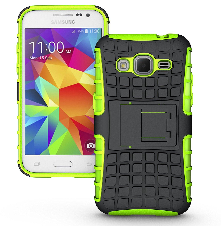 Ανθεκτική Θήκη Samsung Galaxy Core Prime (8829) - Πράσινο - OEM