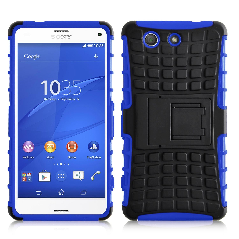 Ανθεκτική Θήκη Sony Xperia Z3 Compact (031-005-031) Μπλε - OEM