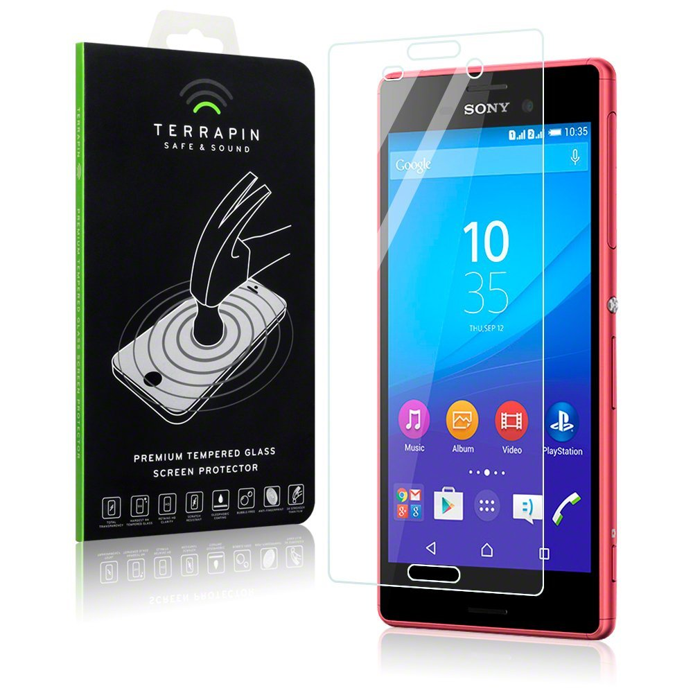 Αντιχαρακτικό Γυάλινο Screen Protector Sony Xperia M4 Aqua by Terrapin (006-005-167)
