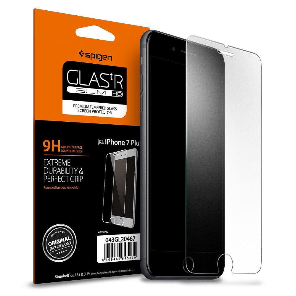 Spigen Premium Tempered Glass - Αντιχαρακτικό Γυάλινο Screen Protector iPhone 8 Plus / iPhone 7 Plus (043GL20608)