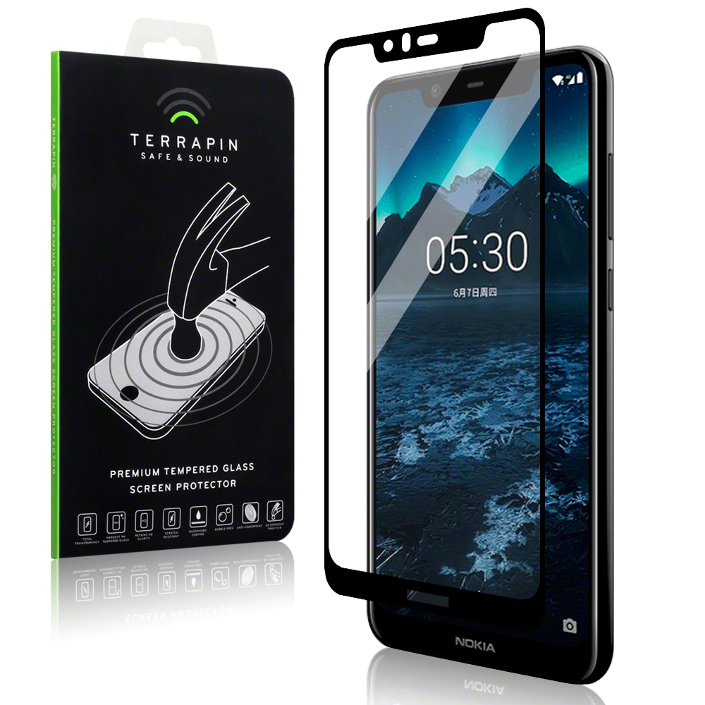 Terrapin Tempered Glass - Αντιχαρακτικό Γυάλινο Screen Protector  Nokia 5.1 Plus (006-001-169)
