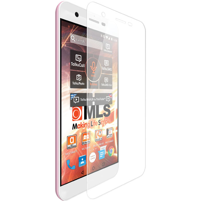 Tempered Glass - Αντιχαρακτικό Γυάλινο Screen Protector MLS iQtalk Spicy 4G (11.QU.520.033)