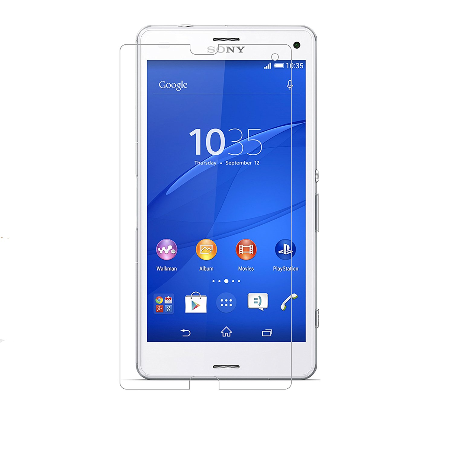 Tempered Glass - Αντιχαρακτικό Γυάλινο Screen Protector Sony Xperia Z3 Compact (10000)
