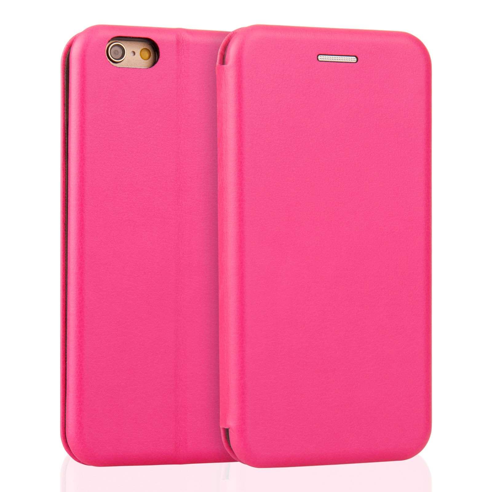 Caseflex Θήκη - Πορτοφόλι iPhone 6S / 6 - Pink (AP-GA03-Z449)