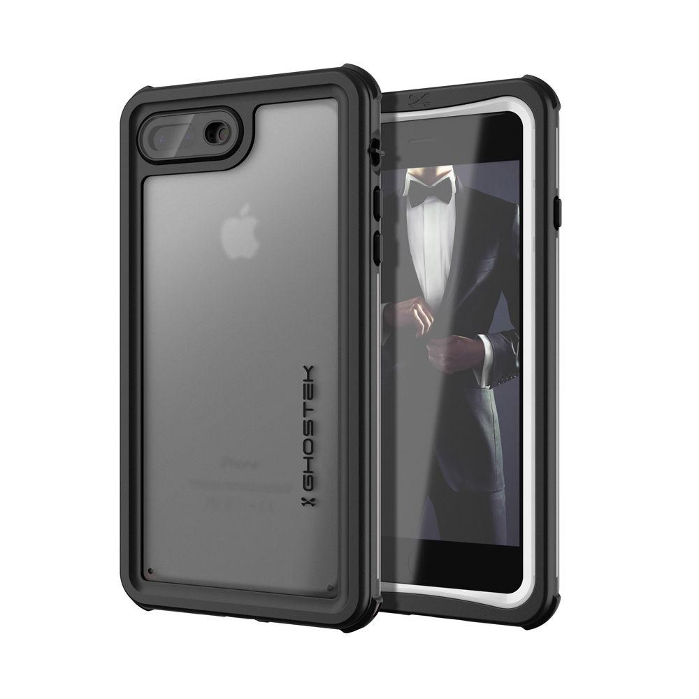 Ghostek Nautical 2 Αδιάβροχη Θήκη iPhone 8 Plus / 7 Plus - White (CA-GHOCAS832-00)
