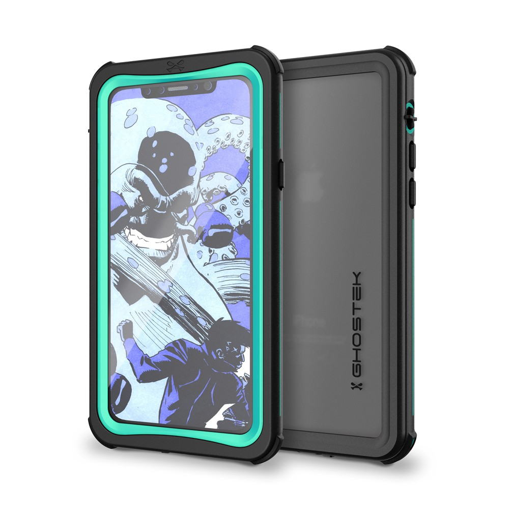 Ghostek Nautical 2 Αδιάβροχη Θήκη iPhone X - Teal (CA-GHOCAS825-00)