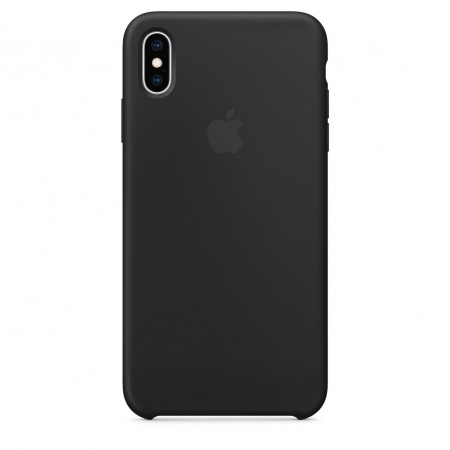Apple Official Silicon Cover - Θήκη Σιλικόνης iPhone XS Max - Black (MRWE2ZM/A)