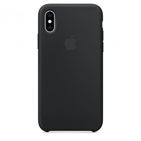 Apple Official Silicon Cover - Θήκη Σιλικόνης iPhone XS - Black (MRW72ZM/A)