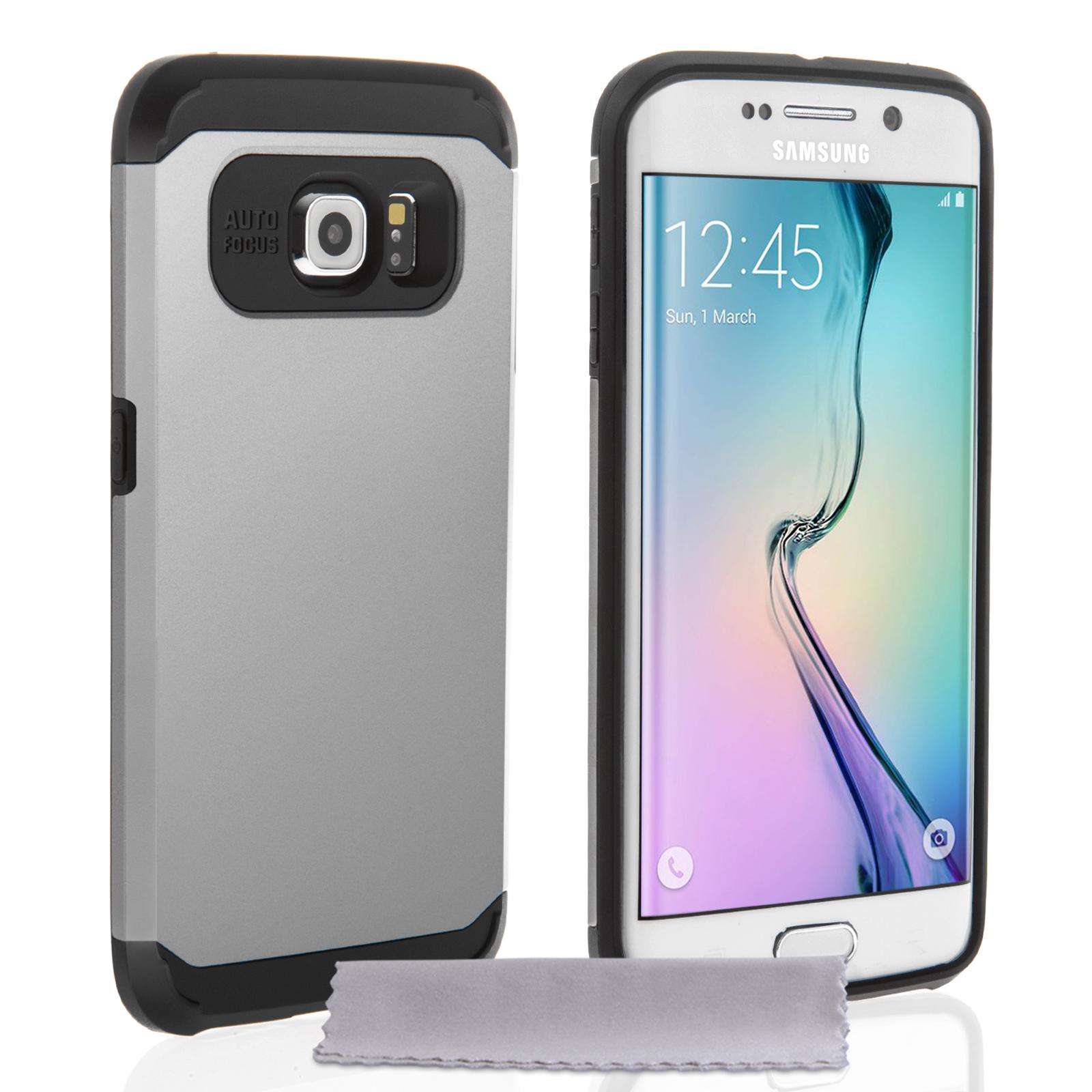 Caseflex Tough Armor Μεταλλική Ανθεκτική Θήκη Samsung Galaxy S6 Edge (Z523)