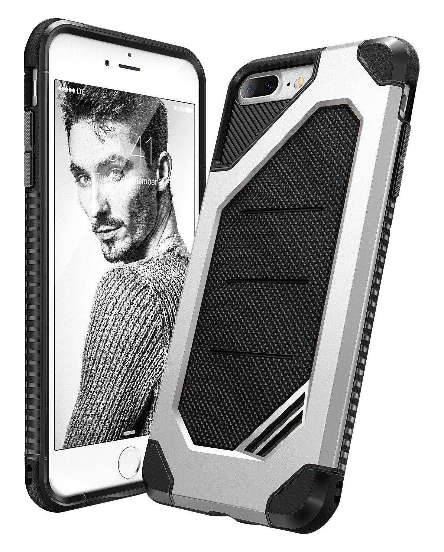 Ringke Max Θήκη iPhone 8 Plus /  iPhone 7 Plus- Ice Silver