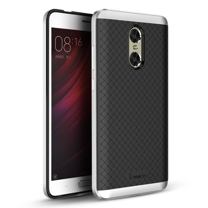 Ipaky Θήκη Hybrid Xiaomi Redmi Note 4 - Black/Silver (9307)