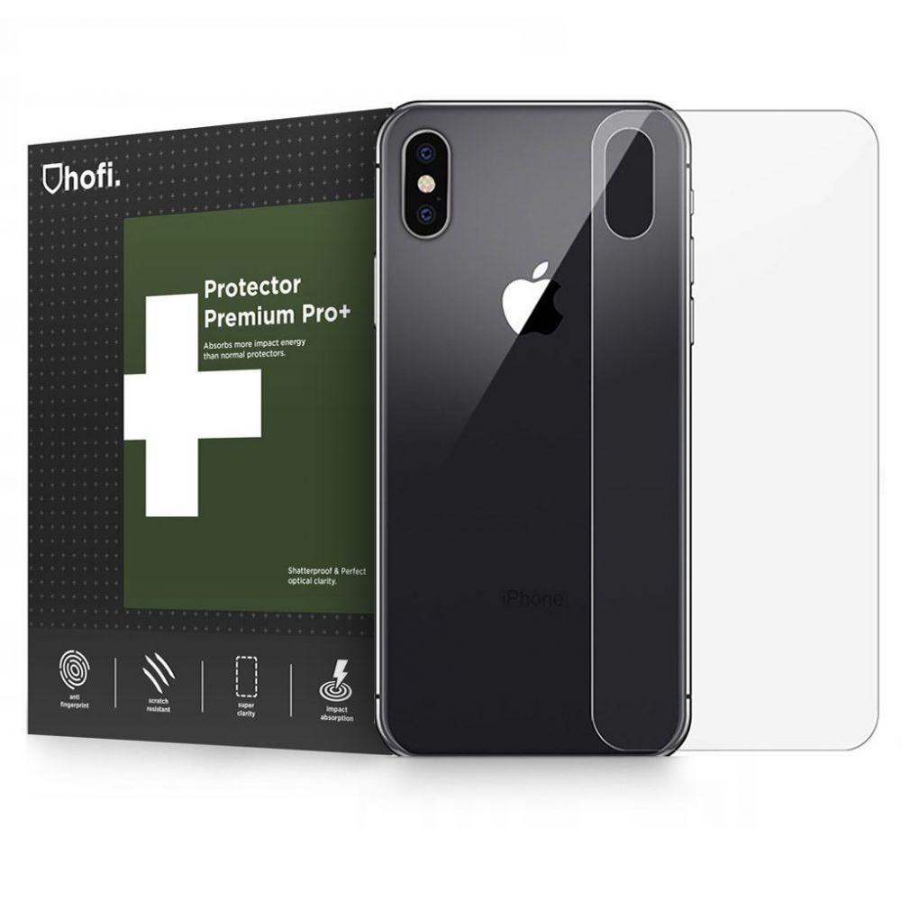 Hofi Premium Tempered Glass - Back Protector για iPhone X/XS - 0.26mm (44548)