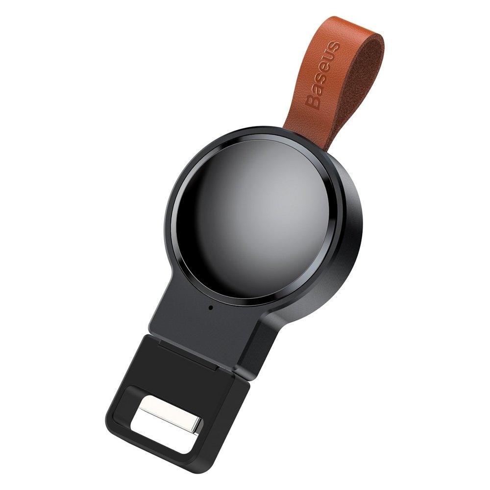 Baseus Wireless Dotter USB Charger για Apple Watch - Black (WXYDIW02-01)