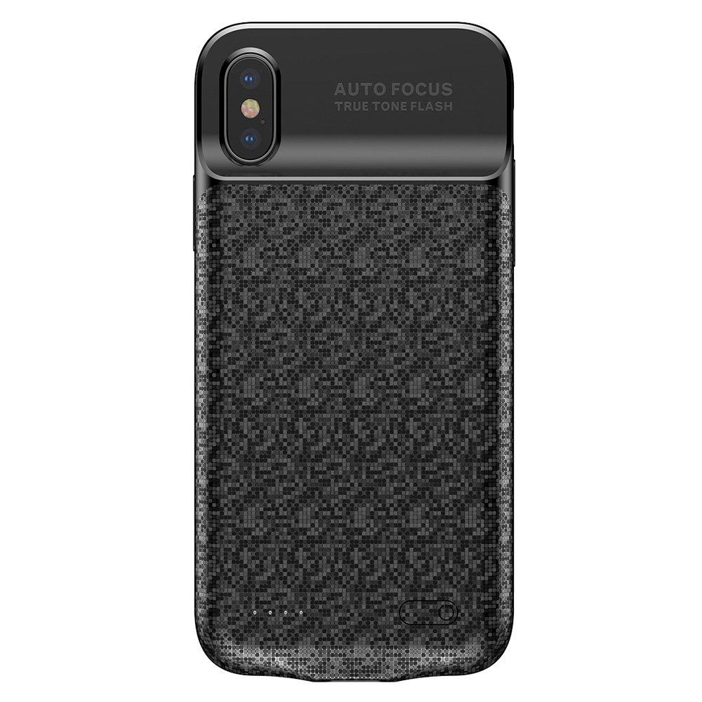 Baseus Cover with Built-in Powerbank - Θήκη & Powerbank 3500mAh iPhone X / XS - Black (12568)