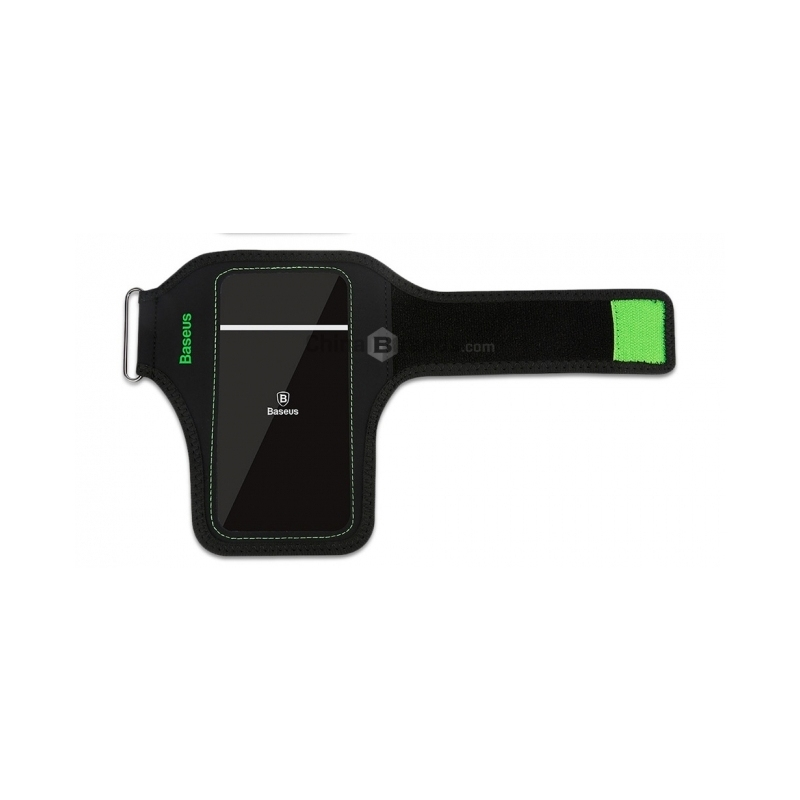 Baseus Flexible Wristband - Αδιάβροχη Θήκη Καρπού για Smartphones έως 5.8'' - Black (CWYD-B06)
