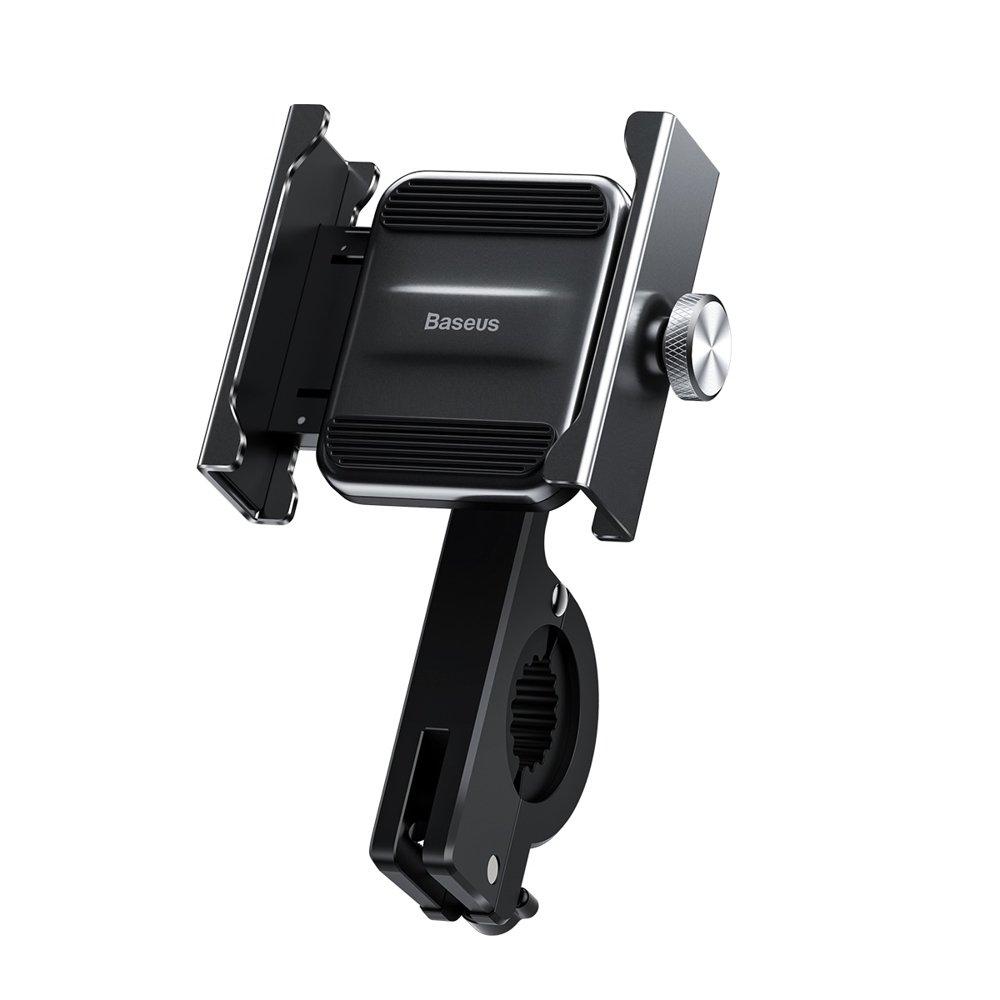 Baseus Knight Motorcycle Holder - Βάση Μηχανής Για Smartphones - Black (CRJBZ-01)