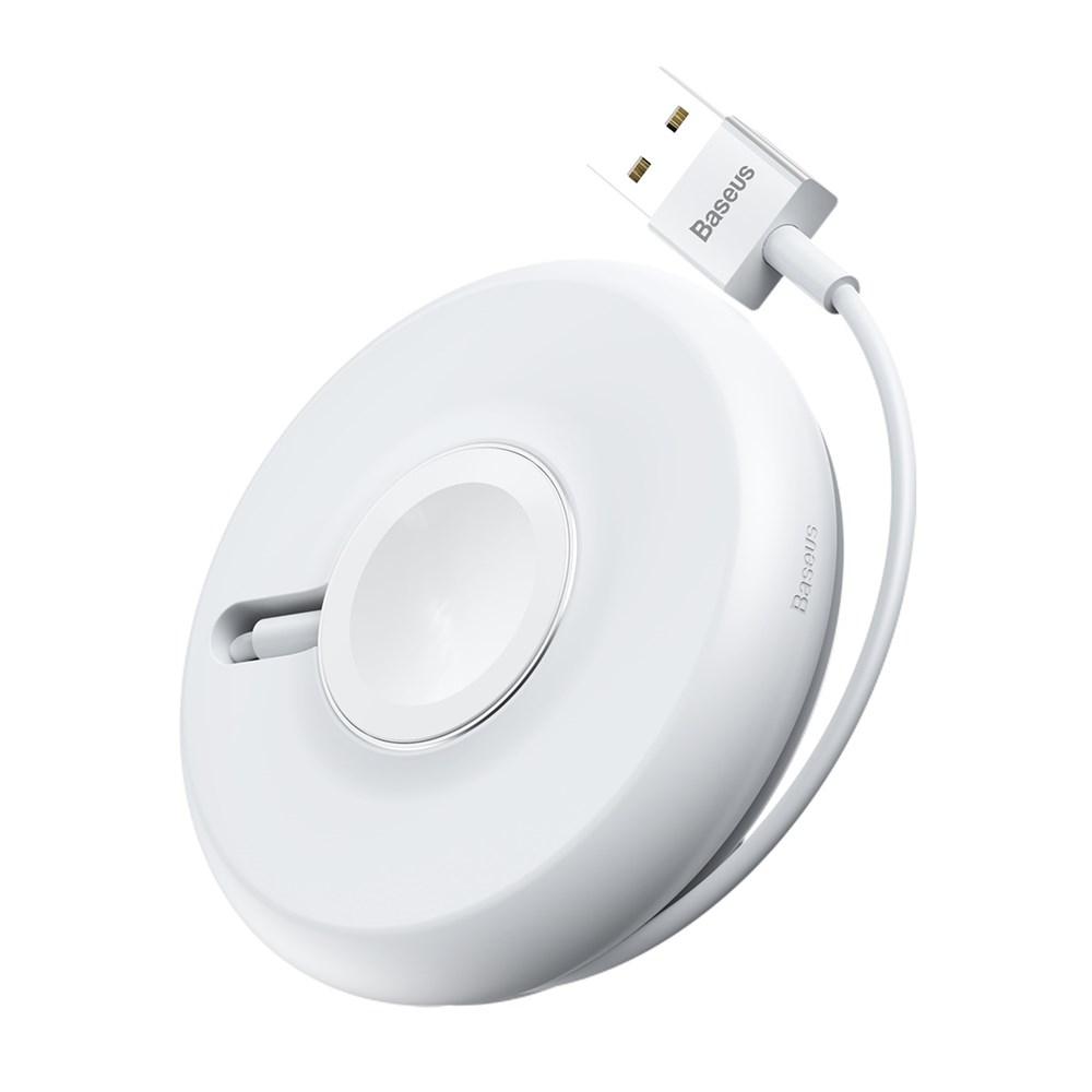 Baseus Wireless Yoyo Charger για Apple Watch - White (WXYYQIW03-02)