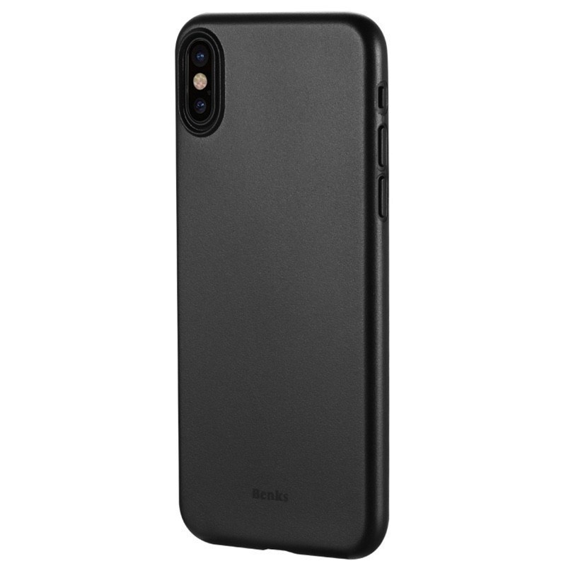 Benks Θήκη Lollipop iPhone XS Max - 0.4mm - Black (14014)