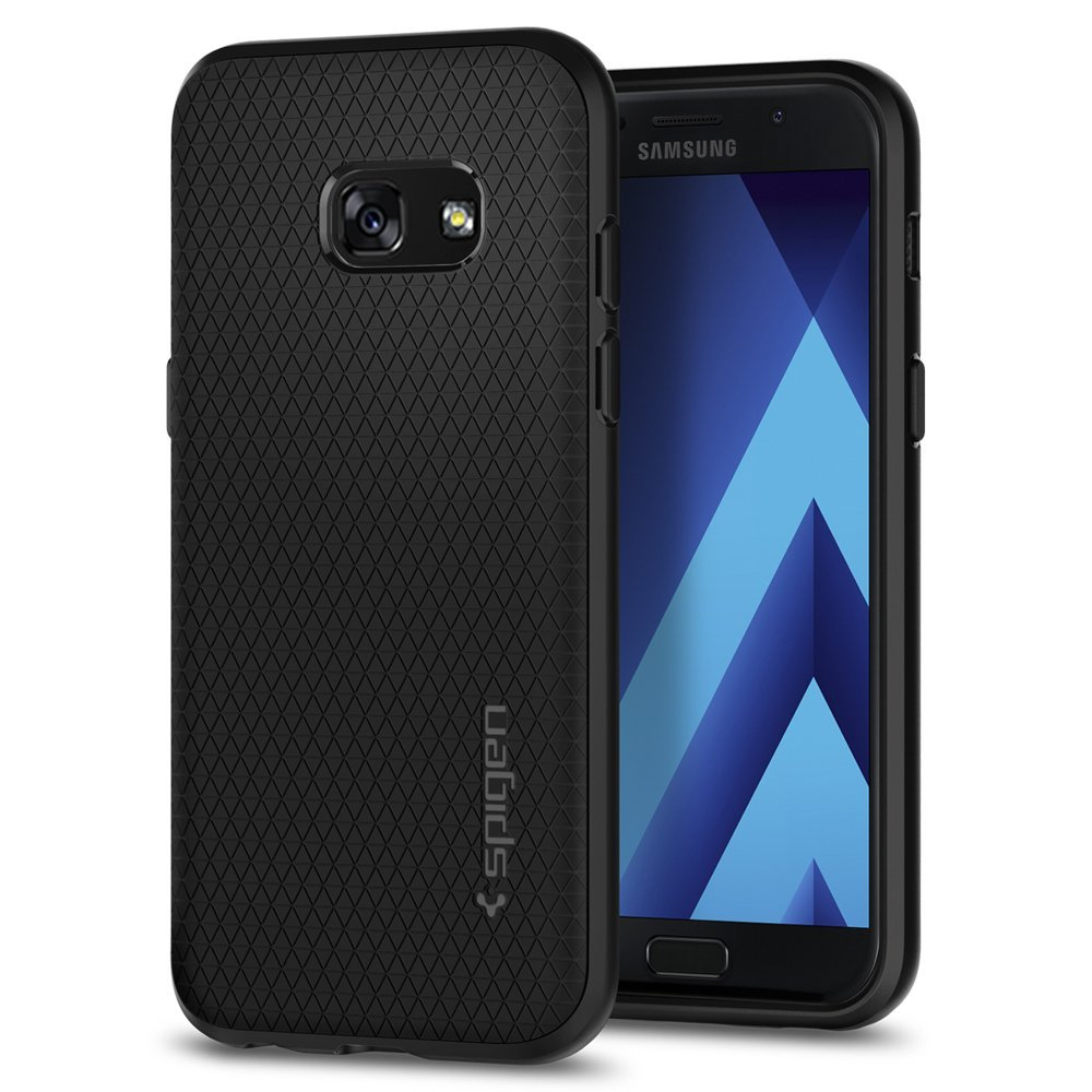 Spigen Θήκη Liquid Armor Samsung Galaxy A3 2017 - Black (572CS21140)