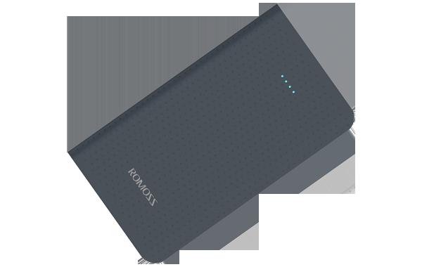 Romoss Sense Mini Φορητή Μπαταρία Φόρτισης (Powerbank) 5000mAh - Black (PHP05-404-02)