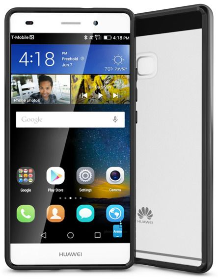 SHTL Θήκη Clear Fusion Huawei P9 Lite - Black (121997)