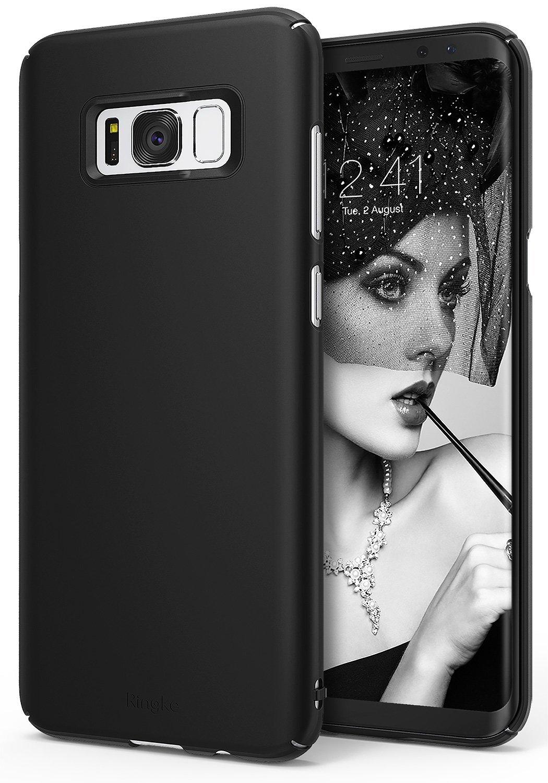 Etui Ringke Slim Θήκη Samsung Galaxy S8 Plus - Black (RSL-GXS8P-BLK)