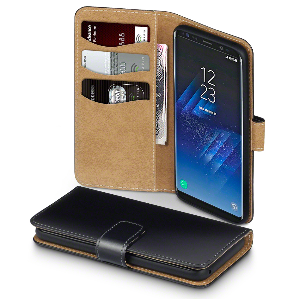 Terrapin Θήκη - Πορτοφόλι Samsung Galaxy S8 - Black / Tan (117-002-943)