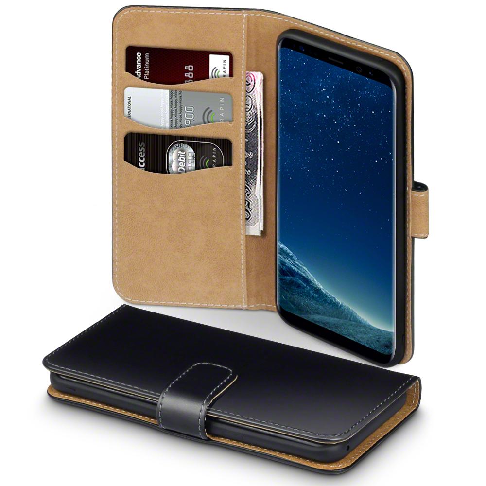 Terrapin Θήκη - Πορτοφόλι Samsung Galaxy S8 Plus - Black / Tan (117-002-954)