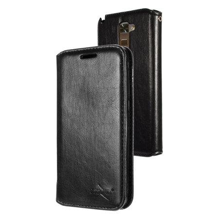 Zizo Θήκη LG Stylus 2 - Πορτοφόλι (1WTPH-LGLS775-BKLT) - Μαύρο