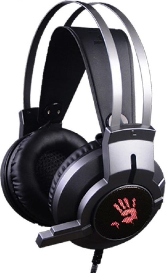 Bloody G437 Glare Gaming Headset - Gun Black (G437GUNBLACK)